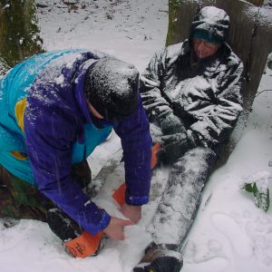 First Aid Training for the Outdoors all year round