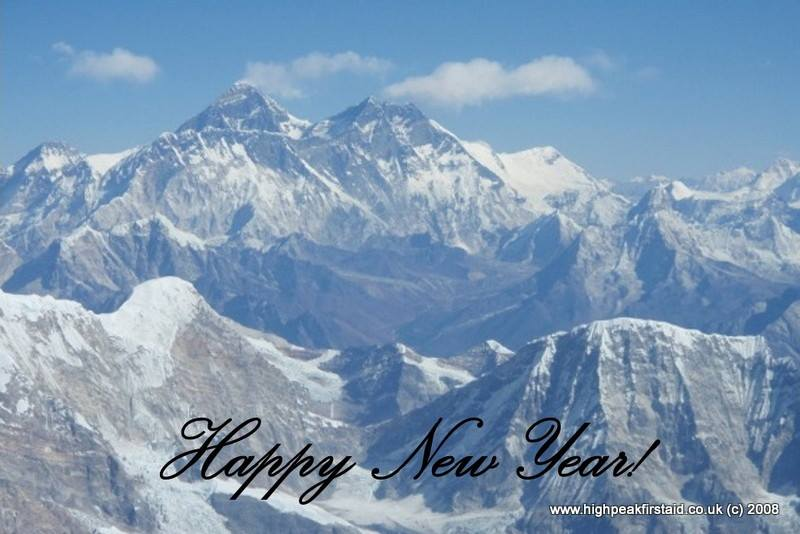 Happy New Year from High Peak First Aid