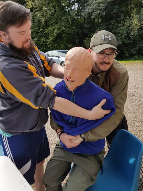 Treatment of Choking Outdoor First Aid